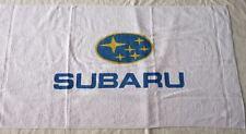 SUBARU SERVIETTE DRAP DE PLAGE BAIN sac drapeau impreza outback forester tribeca