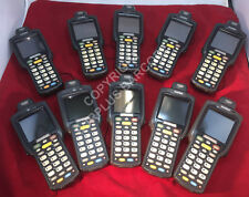 Lot of (10) Motorola Symbol Mc3090R-Lc28S00Ger Laser Wireless Barcode Scanners