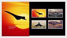 Gibraltar 2019  50JR  CONCORCE   VLIEGTUIGEN   PRESENTATIOJ PACK    postfris/MNH