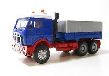Spur HO Herpa 811393 MB Camion pianificare Branda CARRELLO BLU (33 02)