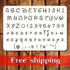 Bullet Journal, Disney Alphabet Letters - Reusable, sturdy, cut stencil.