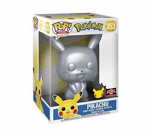 "Funko Pop Pokemon Pikachu 353 Target Con 10"" 25th Anniversary Limited Edition"