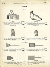 1910 ADVERTISEMENT Newhouse OK Gopher Trap Wolf Jump Leg Hold Steel
