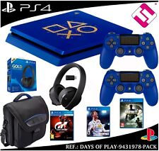 DAYS OF PLAY PS4 500GB 2 MANDOS BOLSO AURICULAR GT SPORT FIFA 2018 CALL OF DUTY