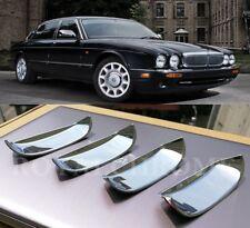 US STOCK x4 CHROME Door Handle Recess Covers JAGUAR XJ 95-03 Vanden Plas Daimler