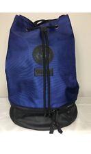 Versace Backpack Blue/Black Rucksack Weekend Gym Sack Medusa with Dust Bag