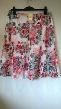 Marks and Spencer Knee Length Floral Casual Skirts for Women
