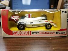 Vintage Corgi no. 156 Graham Hill's Embassy Shadow Diecast Model
