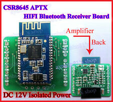 12V Mini CSR8645 APT-X Hifi Bluetooth 4.0 Empfängerplatine Amplifier Speaker