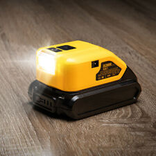 Dual USB Power Source DCB090 for DEWALT Li-ion Battery Charging Adapter with LED