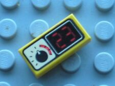 LEGO Tile 1 x 2 with Gauge and 23 Pattern 3069bpx9 / Set 6441 6560 5389 6456 ...