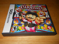 Carnival Games (Nintendo DS, 2008) ~WOW~