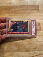 Michael Jordan PSA 6 EX 1990 Hoops Playground #382 NR Last Dance GOAT INVESTMENT