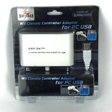 MAYFLASH Wii Classic Pro Nunchuk to PC Mac PS3 USB Controller Adapter Windows XP