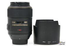 Nikon 105mm f/2.8 G AF-S VR N Micro Nikkor Macro lens Nice! 2000321