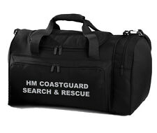 1 x HM COASTGUARD SEARCH & RESCUE black Holdall/Work Bag Ideal for RNLI