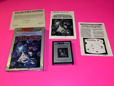 ASTEROIDS arcade game complete in box w/ manual for ATARI 7800