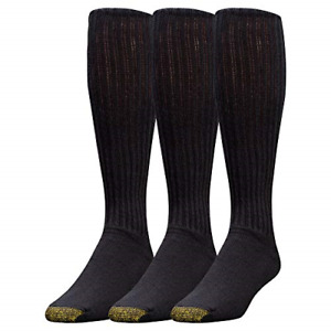 3 Pack Gold Toe Ultra Tec Performance Over The Calf Athletic Socks Shoe 10-12.5