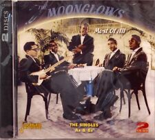 THE MOONGLOWS 'Most of All' The Singles A&B's - 2CD Set on JASMINE