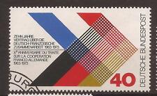 1973 German-French Treaty used, Michel 753