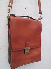 -AUTHENTIQUE    sacoche  LOUIS CHENET (LC)  cuir  TBEG   bag vintage