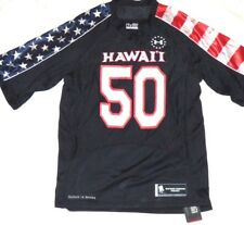 2bb839a7d University Of Hawaii Under Armour Wounded Warrior Size Med Jersey NEW WITH  TAGS