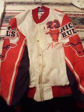 Chalk Line Michael Jordan Chicago Bulls Fanimation Jacket Vtg 90s NBA Made USA M