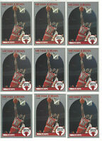 MICHAEL JORDAN 1990 NBA Hoops Basketball #65 ( 27 ) CARD LOT CHICAGO BULLS HOF