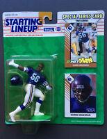 CHRIS DOLEMAN 1993 Starting Lineup Figure Minnesota Vikings NFL Football NEW
