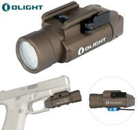 OLIGHT PL-PRO 1500 Lumens Rechargeable Railed Mount Tactical Light Desert Tan