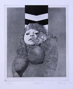 Böttger, Klaus, Dresden, Original, Akt, handsigniert, von 1970, top Zustand