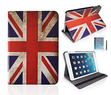 "IPad Air ""UK flag"" SMART COVER CUSTODIA CASE APPLE iPad 5 GUSCIO PROTETTIVO ASTUCCIO PELLICOLA"