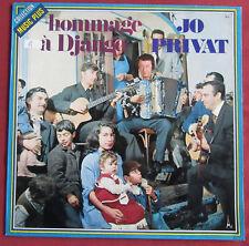JO PRIVAT   ORIG FR LP HOMMAGE A DJANGO  MANOUCHE SWING