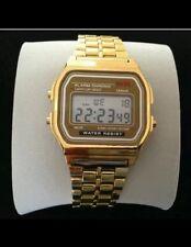 Classic gold retro watch