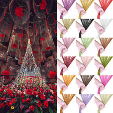 2Pcs Glitter String Curtains Panel Fly Screen Door Divider Window Tassel Fringe