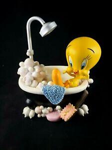 Warner Bros. Tweety Bird Sound Activated Musical Water Fountain RARE