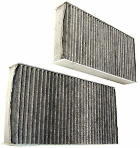 For Honda Civic Mk7 New 2pcs Activated Active Carbon Pollen/Cabin Filter Type-R