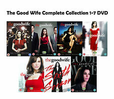 The Good Wife Complete Collection 1-7 DVD All Seasons 1 2 3 4 5 6 7 UK Rele NEW
