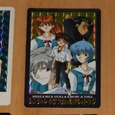 NEON GENESIS EVANGELION RARE PRISM HOLO CARD 46 ASUKA MADE IN JAPAN 1997 NM