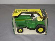 early John Deere 300 Toy Lawn Garden Tractor Original Ertl 1/16 NIB NICE not 140