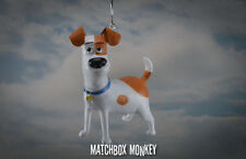 """Adorable The Secret Life of Pets Custom Max Ornament 3""""x 3"""" Jack Russell Terrier"""