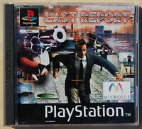 THE LAST REPORT - PLAYSTATION 1 - PAL ESPAÑA - COMPLETO