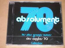 CD / ABSOLUMENT 70 / LES PLUS GRANDS TUBES DES ANNEES 70 / RARE, NEUF CELLO
