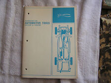 Workbook for the Automotive Tools  WiIliam H. Crouse 1966