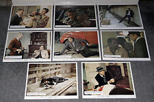 SCORPIO color set BURT LANCASTER/ALAIN DELON original 1973 FOH lobby photos