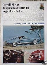 1968 Shelby Mustang GT 500 ORIGINAL Vintage Ad C STORE 4MORE ADS   5+= FREE SHIP