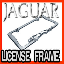 JAGUAR 3D CHROME METAL LICENSE PLATE FRAME / BEST QUALITY AAA+