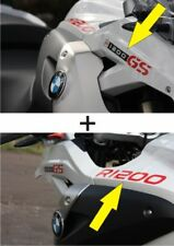 KIT ADESIVI STICKER DECAL BMW R 1200 GS DAL 2008 IN POI