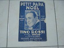 partition : Petit Papa Noël (1946)