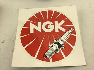 NGK Spark Plug Tool Box Stickers 150mm 6'' Mancave etc 2389t138